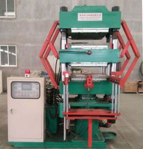 Hydraulic Rubber Column Type Vulcanizing Press Machine pictures & photos