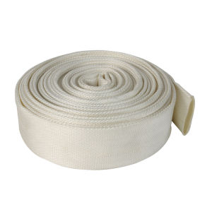 50mm 8bar Polyester Filament Jacket White PVC Lining Flexible Fire Hose and Layflat Hose pictures & photos