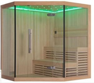 Monalisa Freestanding Traditional Style Wooden Dry Steam Sauna Room (M-6036) pictures & photos