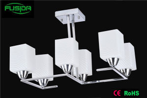 Modern 6 Lamps Glass Chandelier Lamp/Pendant Light pictures & photos