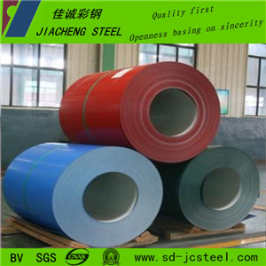 Color Coated Steel Coils PPGI for Roofing Building by Manufactory