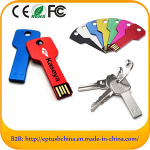 Hot Sellig Metal Key USB Flash Drive (ED001) pictures & photos