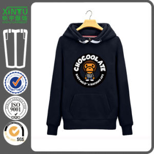 2015 Print Black Fleece Cheap Pullover Anime Naruto Hoodie pictures & photos