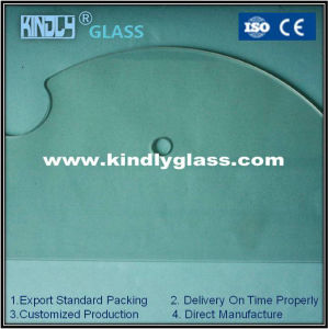10mm Shaped Tempered Glass pictures & photos