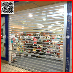 Shopfront Automatic Transparent Plastic Door (ST-02) pictures & photos