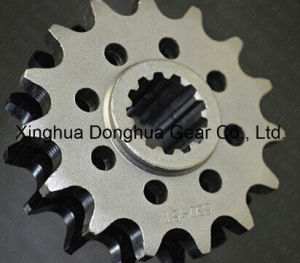 Racing Motorcycle Parts Chain 530 Front Sprocket 15t for Honda pictures & photos
