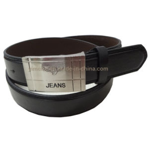 Jeans Fashion Men PU Leather Belt China Factory Supplier pictures & photos