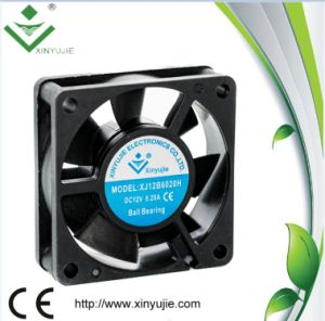 Xinyujie 12V 24V Brushless DC Cooling Fan 60X60X20mm pictures & photos