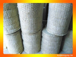 China fireproof insulation material rock wool blanket for Fireproof rockwool