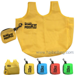 100% Recycled 190t Polyester Foldable Bag (HBFB-12) pictures & photos