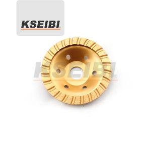 Kseibi Single Row Type Diamond Wheel Cup Wheel pictures & photos