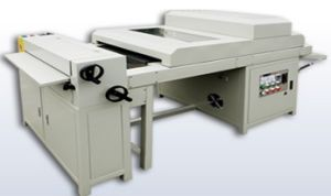 UV Coating Machine and Embossing Machine with IR and UV Lamp pictures & photos