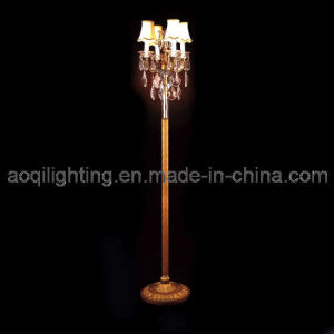 Decorative Crystal Floor Lamp (AQ-1235L) pictures & photos