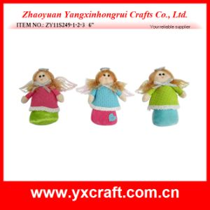 Christmas Decoration (ZY11S249-1-2-3) Colorful Christmas Angel pictures & photos