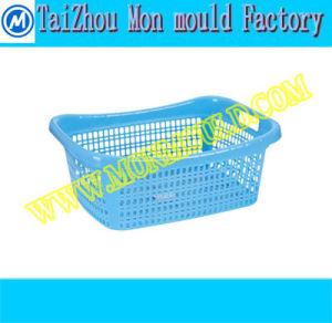 Plastic Laundry Clothes Storage Basket Mould