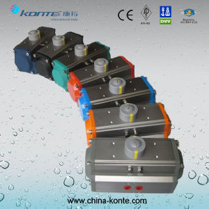 High Quality at Type Aluminum Pneumatic Actuator with Double Action pictures & photos