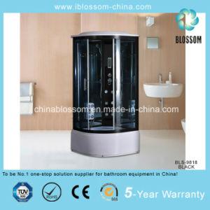 Luxury Tempered Glass Steam/Sauna Cabin Massage Shower (BLS-9 818 BLACK) pictures & photos