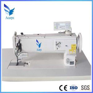 Long Arm Single Needle Compound Feed Sewing Machine pictures & photos