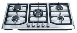 5 Burners Stainless Steel Built-in Gas Stoves