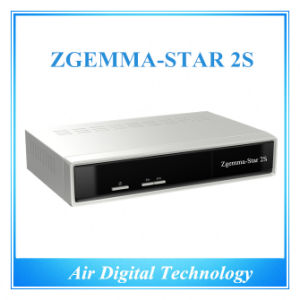 Original Two DVB-S2 Tuner Enigma2 Linux System Zgemma-Star 2s Satellite Receiver Zgemma Star pictures & photos