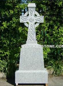Grey Granite Cross Tombstone / Headstone / Monument pictures & photos