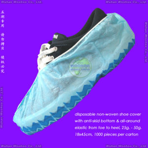 Disposable Non-Skid Shoe Cover pictures & photos