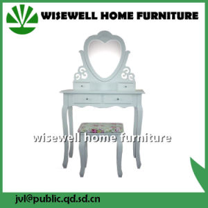 Wooden Bedroom Dressing Table with Mirror (W-HY-067) pictures & photos