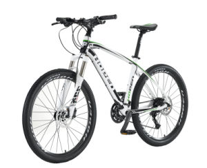 "26"" 27sp White New Popular Alloy Mountain Bicyle pictures & photos"