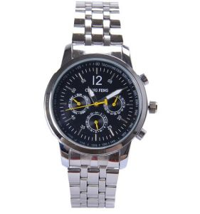 Fashion Japan Quartz Chronograph Analog Wrist Band Watch (XM9054)