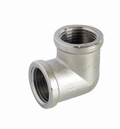 Nickel-Plated Screw Fitting - Elbow F/F for Pex-Al-Pex Pipe pictures & photos