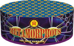 """0.4"""" 200s Metamorphous 1.4G Consumer Fireworks (KL04200)"""