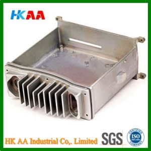 Precision ADC12 Aluminum Military Interphone Heat Sink pictures & photos