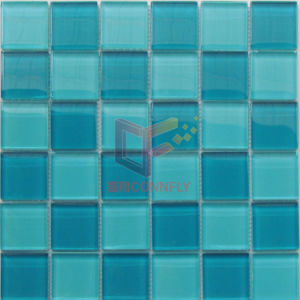Green Square Swimming Pool Mosaic Tiles (CFC588) pictures & photos