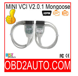 Mini Vci for Toyota Tis Mongoose Techstream V10.10.018 Single Cable