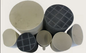 Diesel Particulate Filter Honeycomb Ceramic for Diesel Soot Emission System pictures & photos