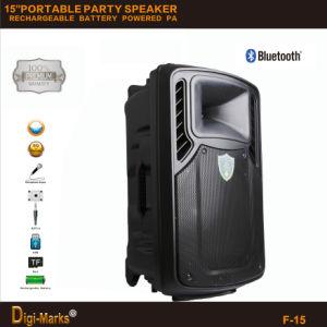 Rechargeable Battery Mini Portable Ce Karaoke Bluetooth FM Active Speaker pictures & photos
