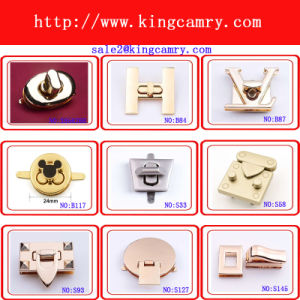 Most Popular High Quality Metal Bag Accessories Alloy Lock pictures & photos