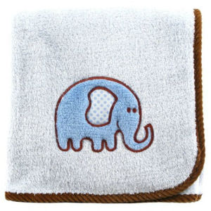Polar Fleece Baby Blanket with Embroidery with Ribbion Packaging pictures & photos
