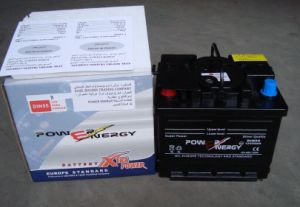 55vwf 12V55ah Dry Charged Car Battery pictures & photos