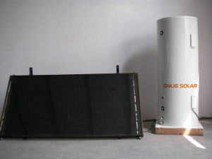 Split Copper Coil Water Tank for Solar Heater System pictures & photos