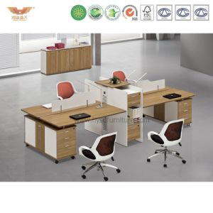 Hot Sale Office Workstation Desk with L Shape Return pictures & photos