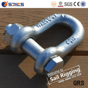 Us Type Chain Hot Dipped Galvanized Shackle pictures & photos