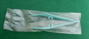 Medical 13cm Disposable Forceps pictures & photos
