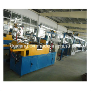 Double Colour Wire Cable Extrusion Machine Production Line pictures & photos