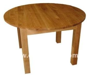Dt-4015 Solid Oak Furniture Round Cheap Bar Table Sets pictures & photos