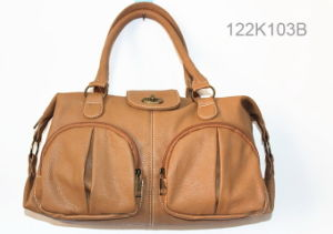 Fashion Lady PU Handbag (JYB-23008) pictures & photos