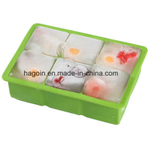 FDA Silicone Ice Cube Tray pictures & photos