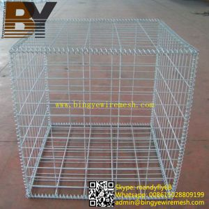 Hot Dipped Galvanized Gabion Basket Welded Gabion Cages pictures & photos