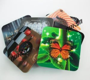 Promotional 3D Lenticular Coaster pictures & photos