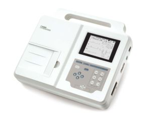 Three Leads Channel ECG Machine EKG Electrocardiograph Holter Paper Big Screen Ce Certificate (SC-CM300)